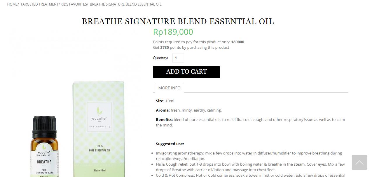 breathe signature blend