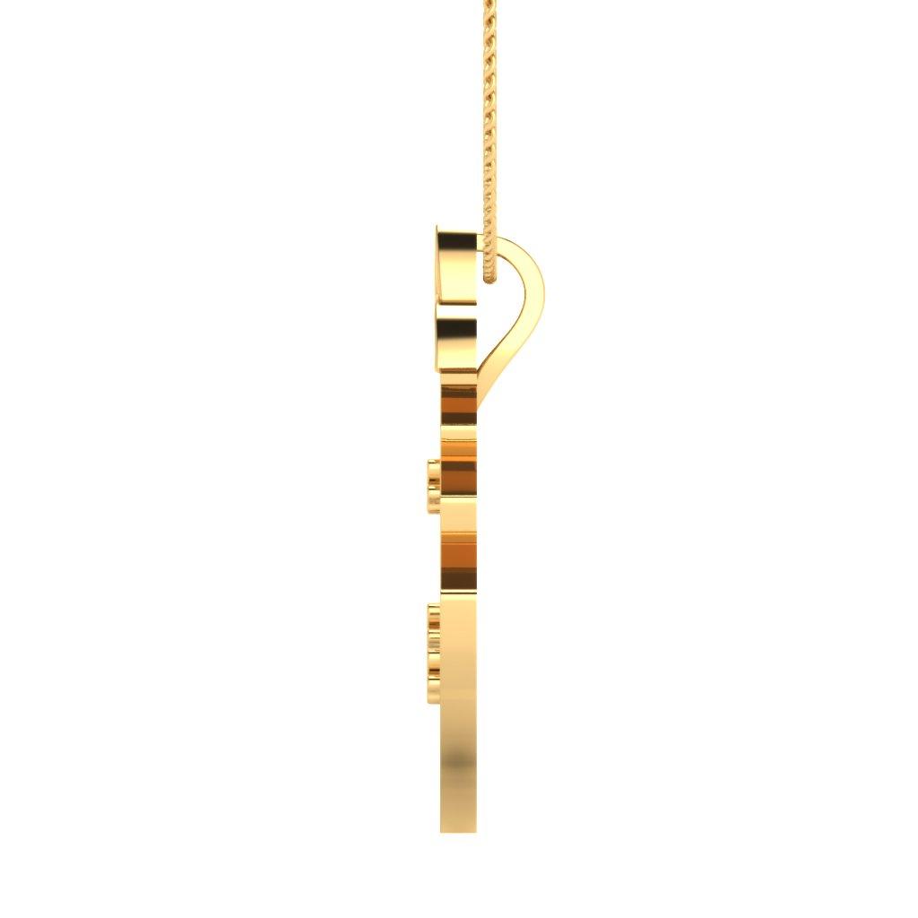 The Christmas Tree Gold Pendant