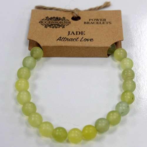 power bracelet - jade