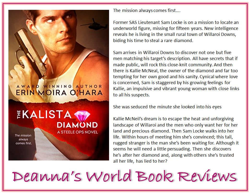 The Kalista Diamond by Erin Moira O'Hara blurb