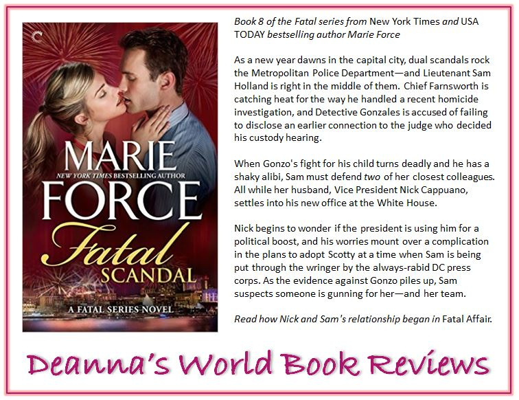 Fatal Scandal by Marie Force blurb