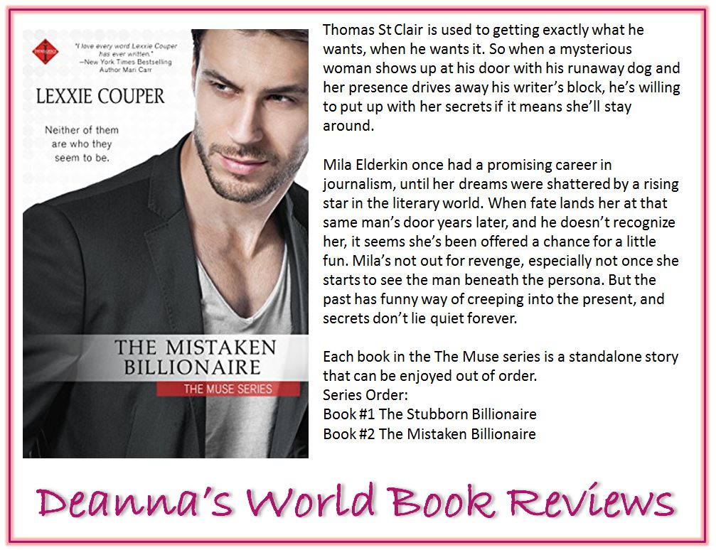 The Mistaken Billionaire by Lexxie Couper blurb