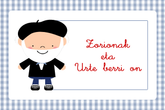 Felicitación de Navidad Olentzero