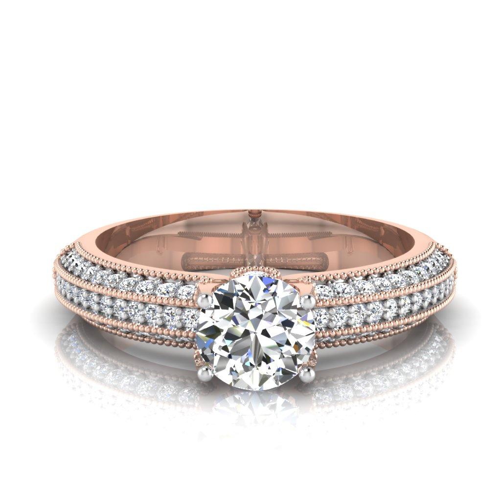 The Ferke Solitaire Ring