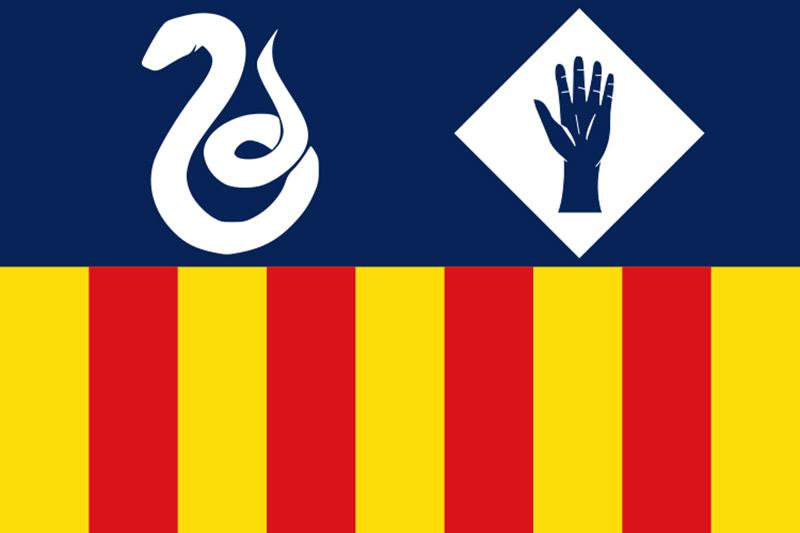 Bandera de Manlleu