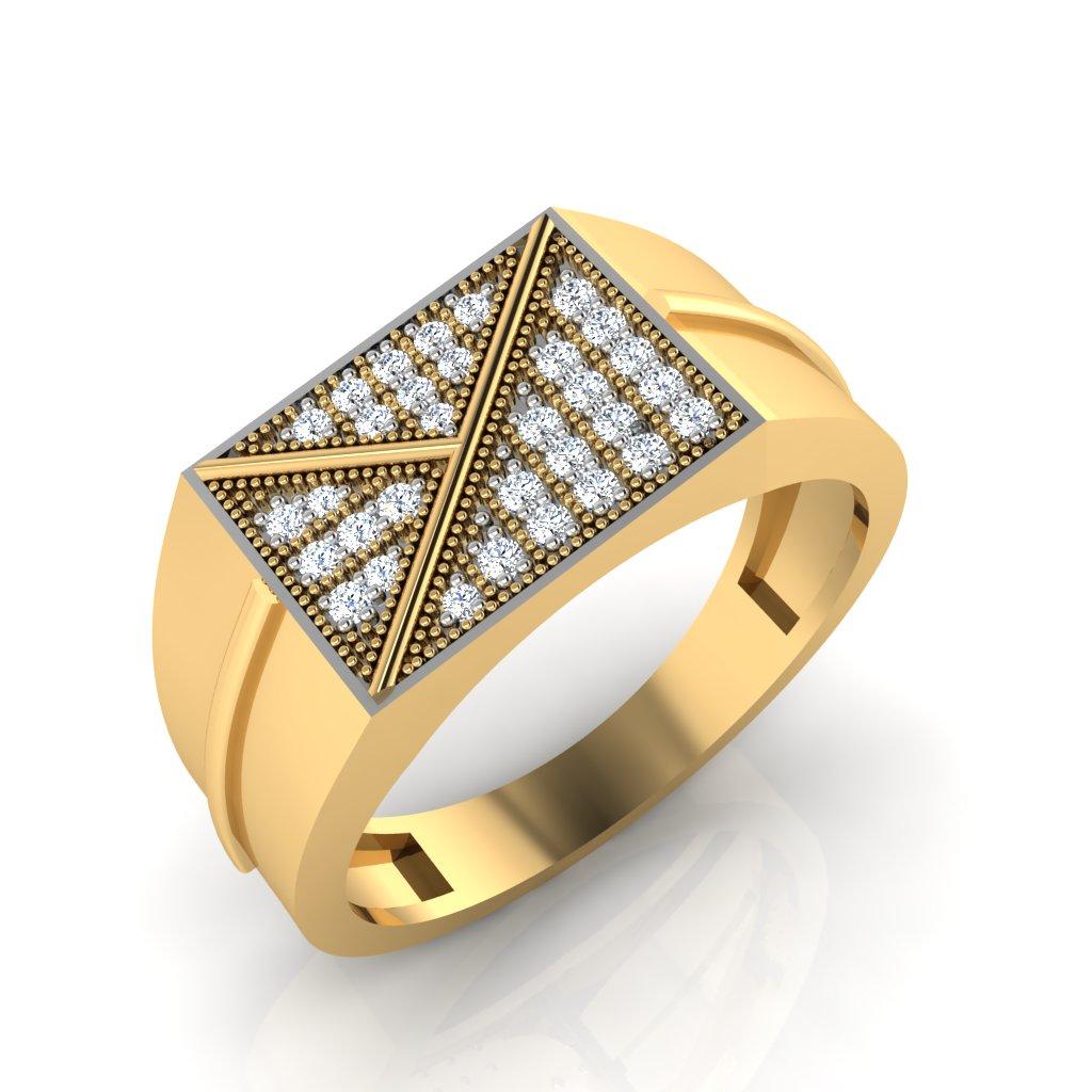 The Marvel Diamond Mens Ring