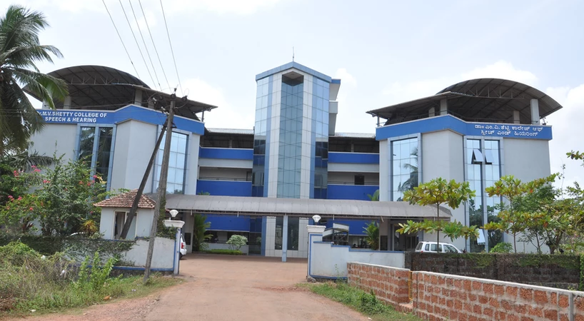 Dr. M.V. Shetty College of Speech and Hearing, Mangaluru