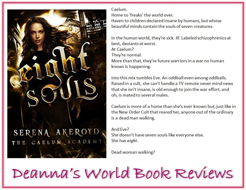 Eight Souls by Serena Akeroyd blurb