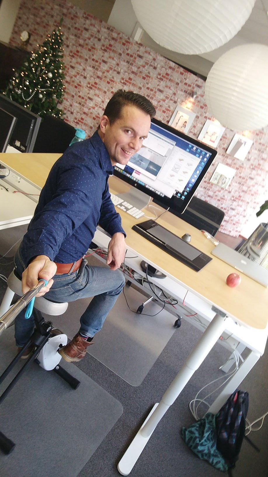 Bureaufiets Deskbike