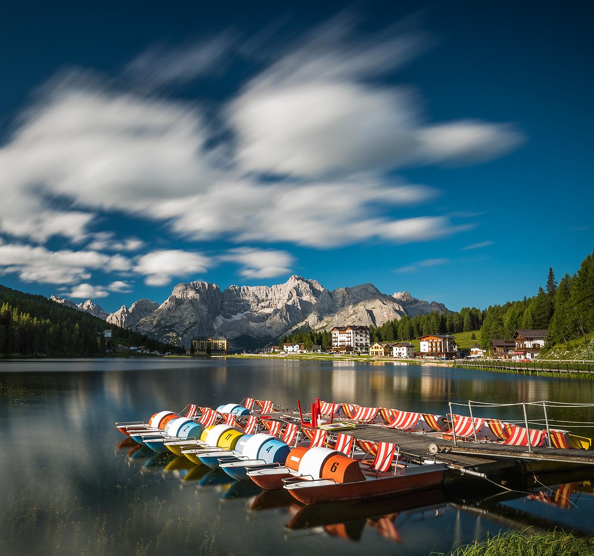 Mizurina lake, Dolomites