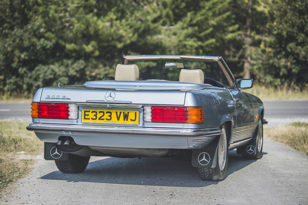 Low mile Mercedes-Benz 300SL and Renault Clio V6 head to auction