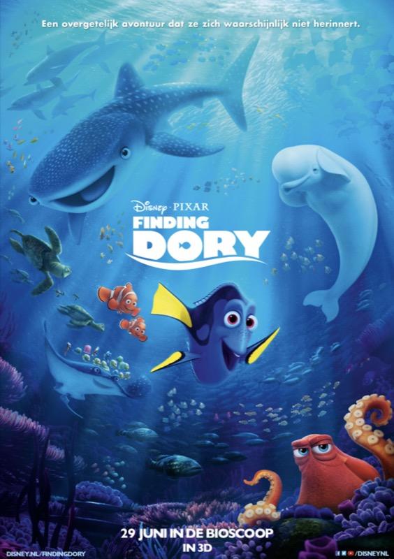 Finding Dory (NL) 2D