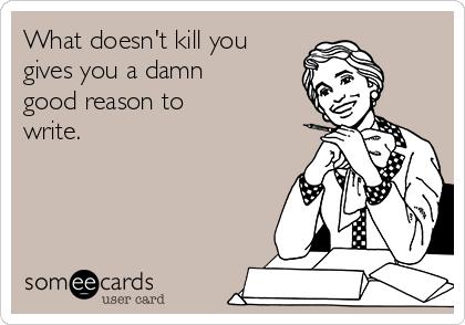 то что тебя не убивает