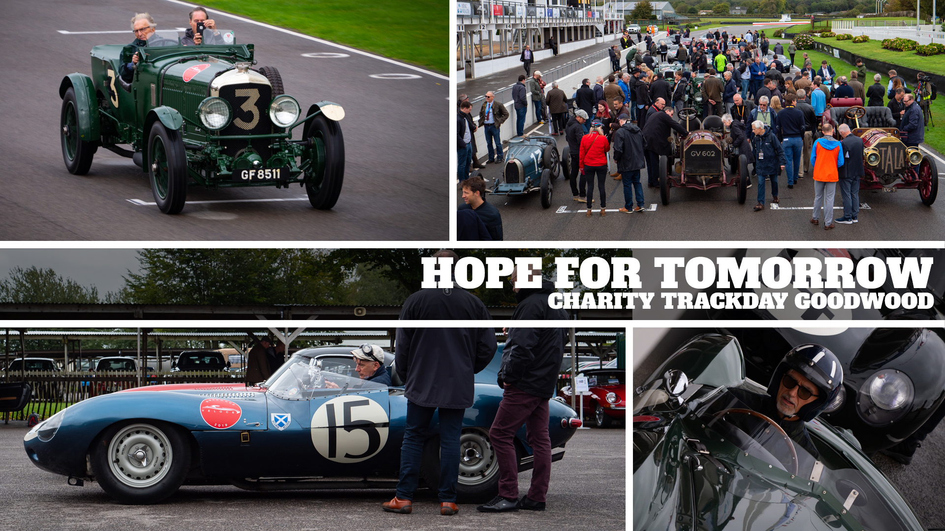 Hope for Tomorrow Goodwood Veloce Trackday raises £100k for Charity