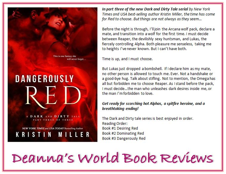 Desiring Red by Kristin Miller blurb