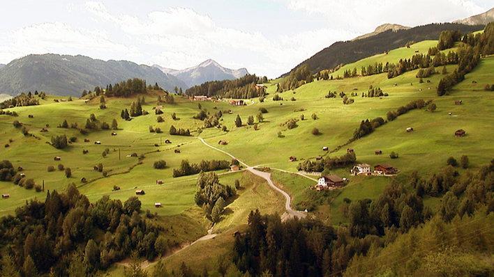 Blick auf den Millstätter See in Kärnten