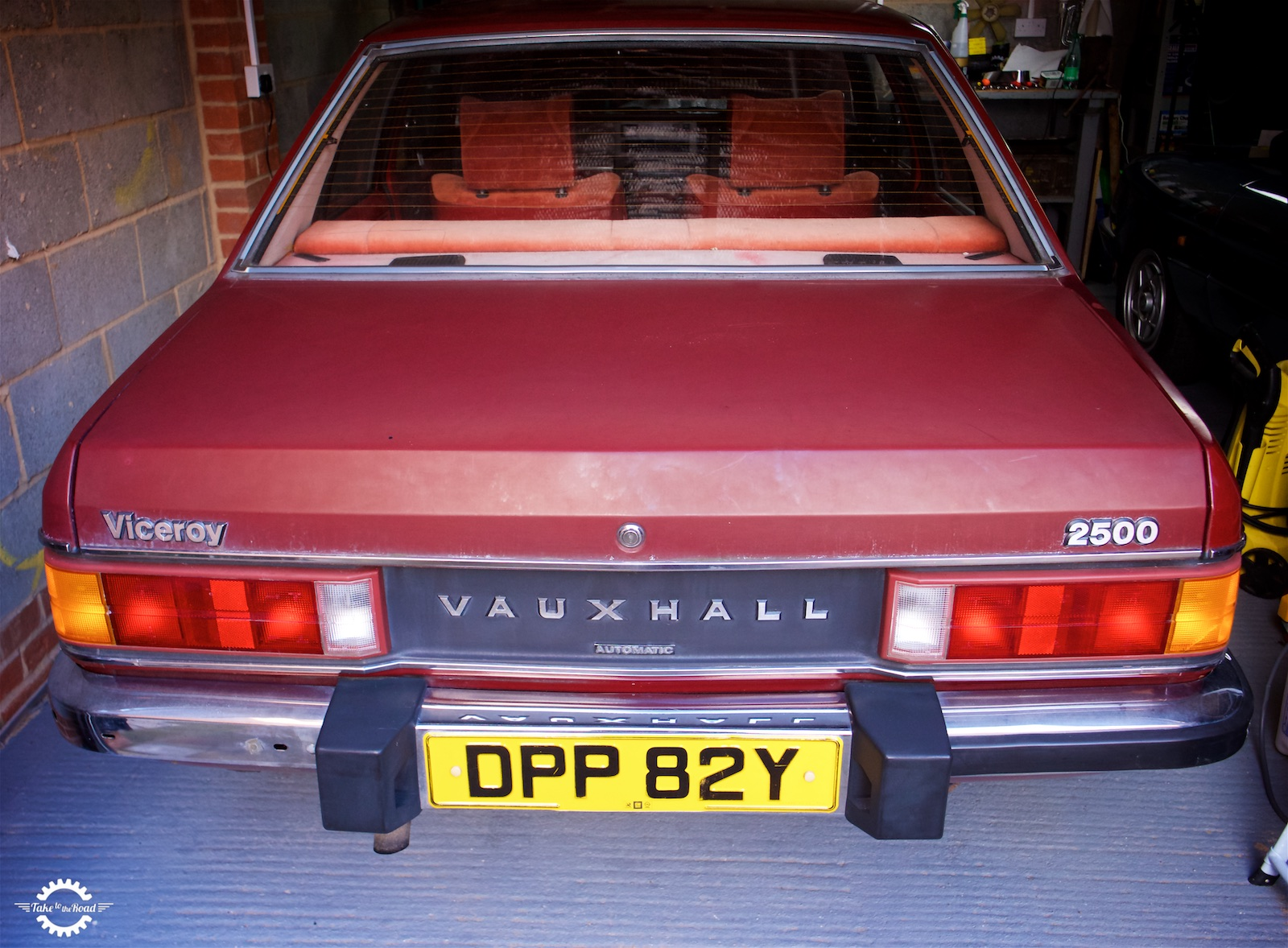 Take to the Road Vauxhall Viceroy Zenith 35/40 INAT carb problems