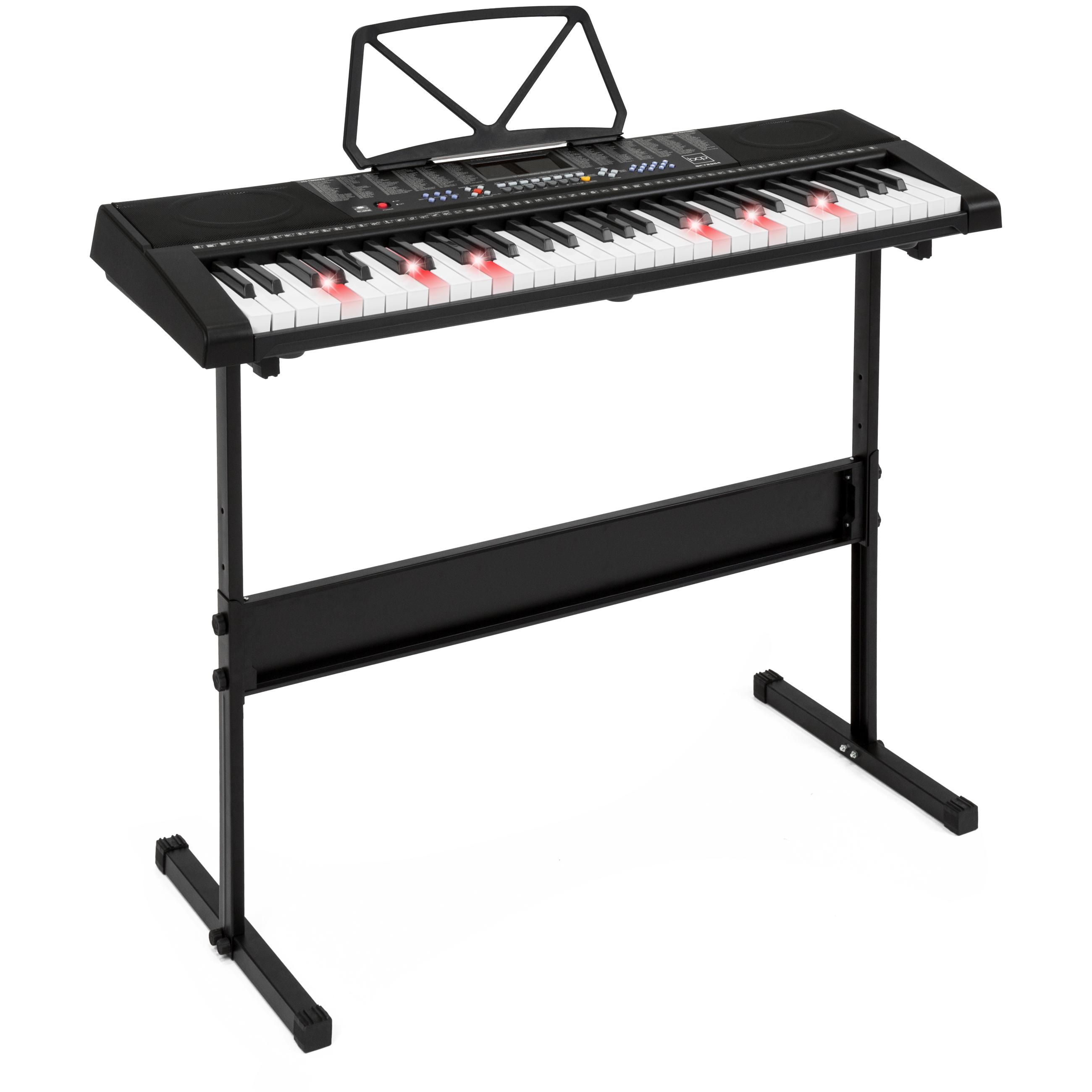 Teaching Electronic Keyboard Piano Set 61 Light Keys Led