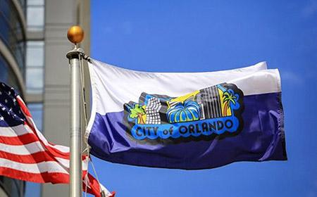 La ciudad de Orlando vota para elegir su nueva bandera
