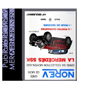 Publicité 1969 MERCEDES SSK