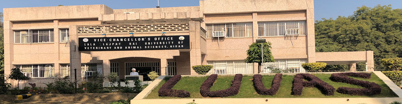 Lala Lajpat Rai University of Veterinary and Animal Sciences, Hisar