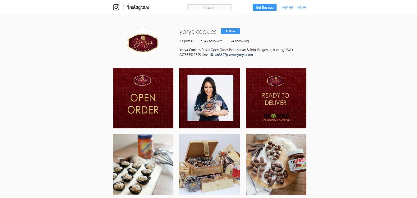 instagram yorya cookies