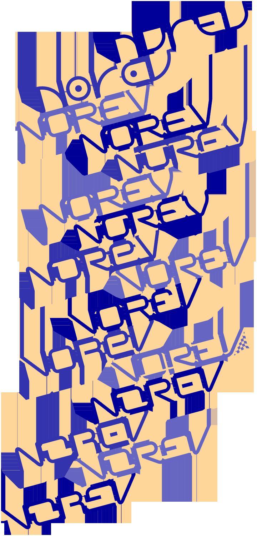 Les propositions de logos que j'ai faites autour de carrés parfaits symbolisés en orange. Cliquez pour afficher en HD