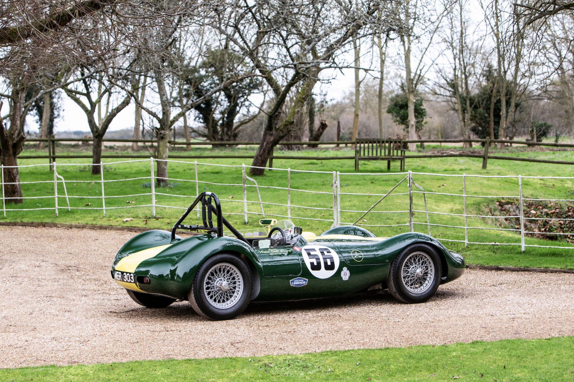 Unique 1956 Lister-Maserati racer leads Bonhams private sale