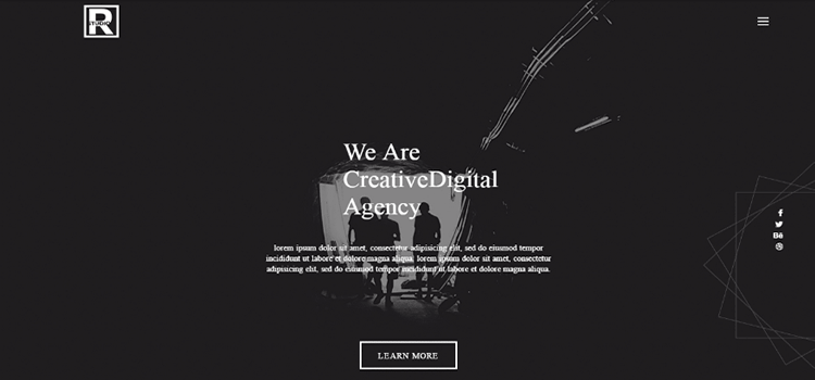 R Studio – Free Web Agency Bootstrap Template