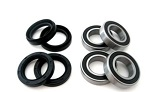 Both Front Wheel Bearings and Seals Kit Yamaha YFM660 Grizzly IRS 2002