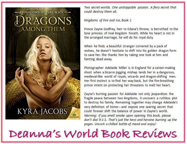 Dragons Among Them blurb