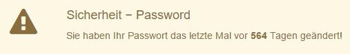 Wer über Monate oder Jahre das gleiche Passwort verwendet, macht es Hackern sehr leicht.