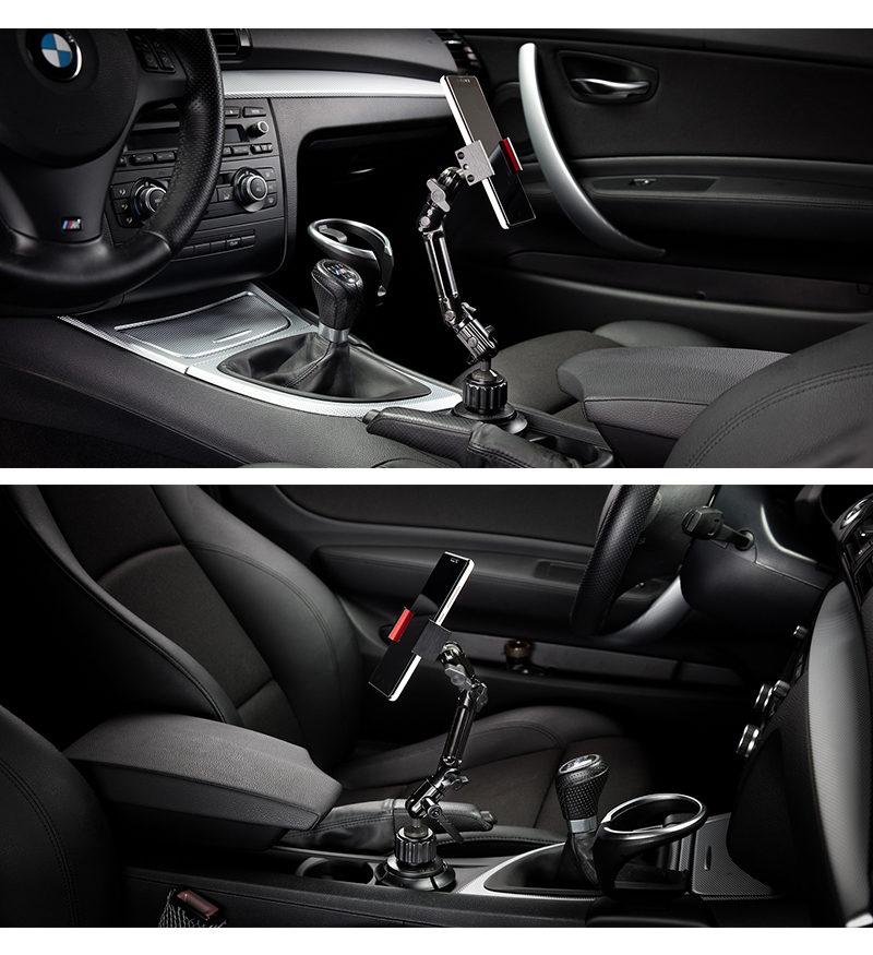 賓士BENZ、BMW、奧迪AUDI,多款汽車主推薦,汽車用杯架式手機架,iPhone支架