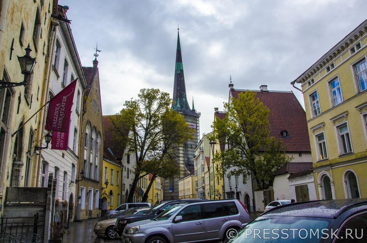 Улица Лай и Церковь Святого Олафа