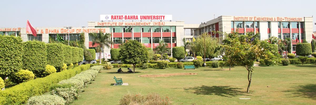 University School of Media Studies, Rayat Bahra University Image