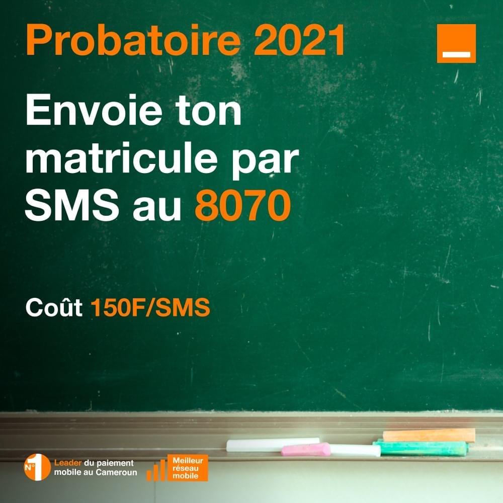 Résultats probatoire cameroun 2021-2022  liste des admis
