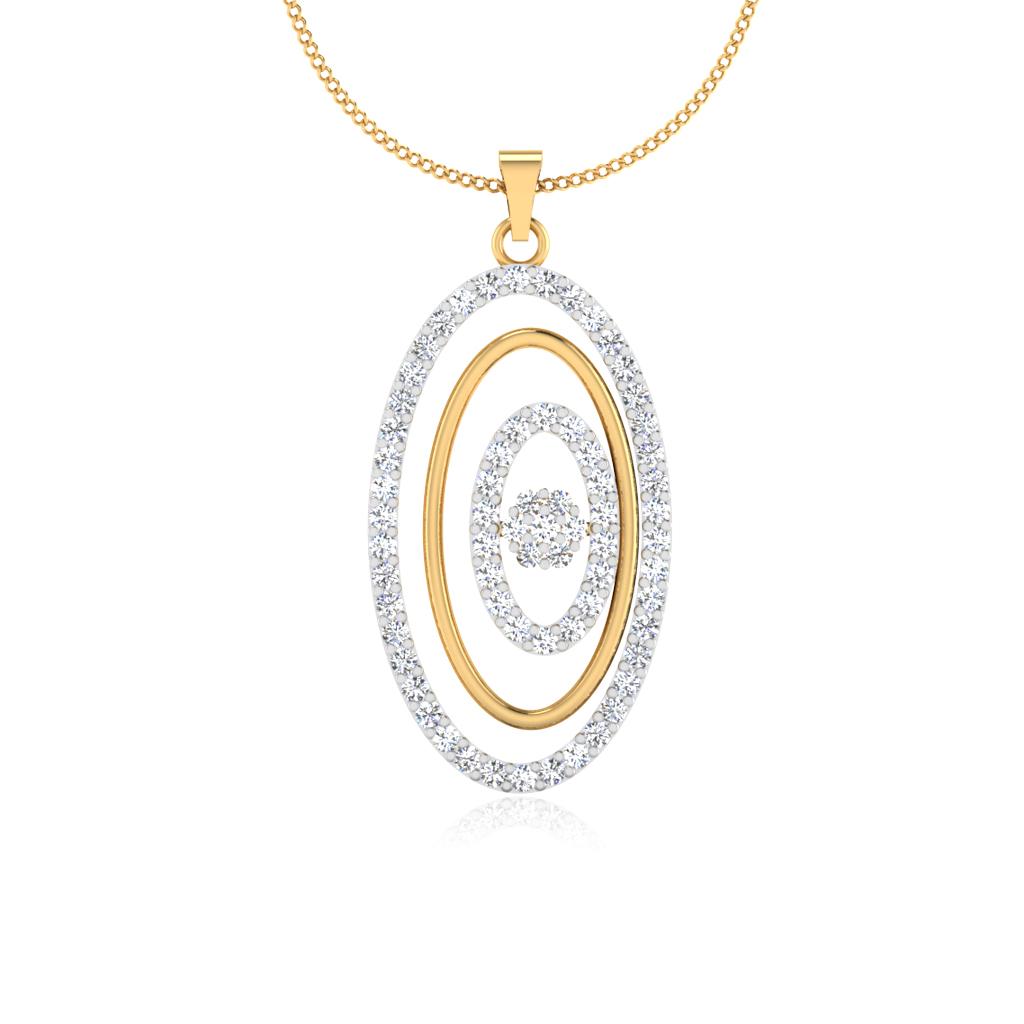 The Peora Diamond Pendant