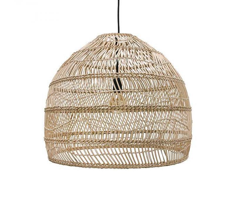 HK Living - Rieten hanglamp