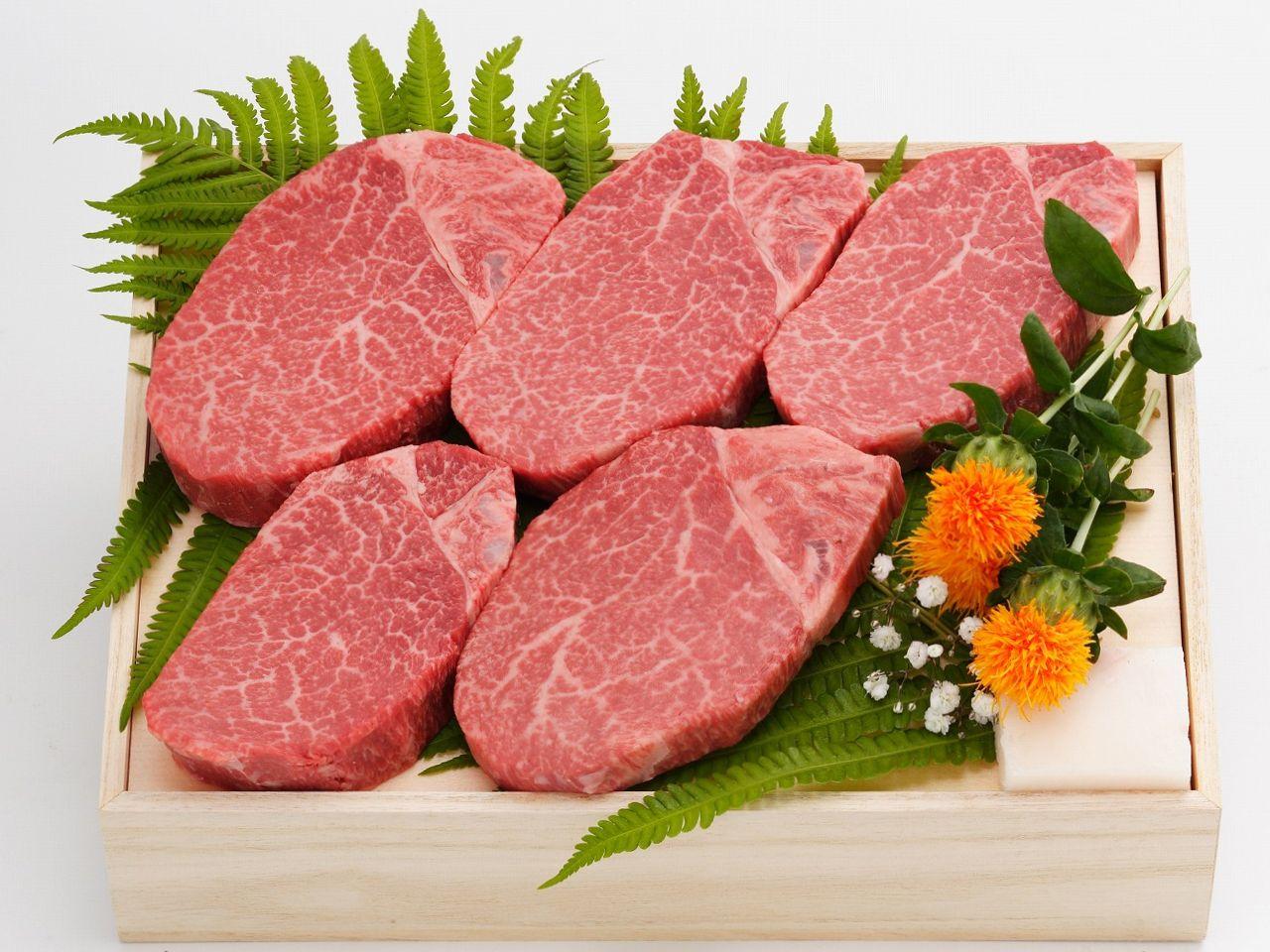 ヒレステーキ 米沢牛