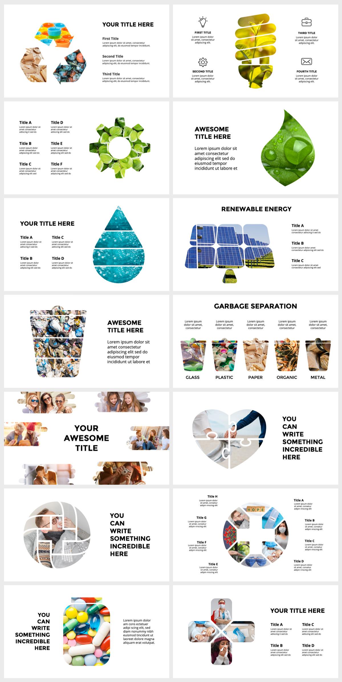 Huge Infographics Bundle! Lifetime Updates! PowerPoint, Photoshop, Illustrator. - 135