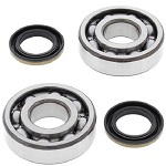 Main Crank Shaft Bearings and Seals Kit Kawasaki KX250 2002-2007