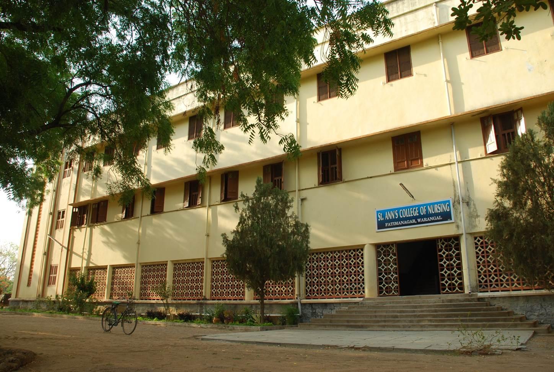 St. Ann's College Of Nursing, Warangal Image