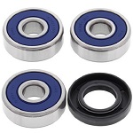 Rear Wheel Bearings and Seal Kit - 25-1295B - Boss Bearing