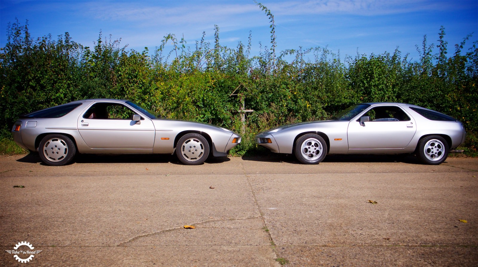 Take to the Road Feature Two Land Sharks - Porsche 928 40th Anniversary