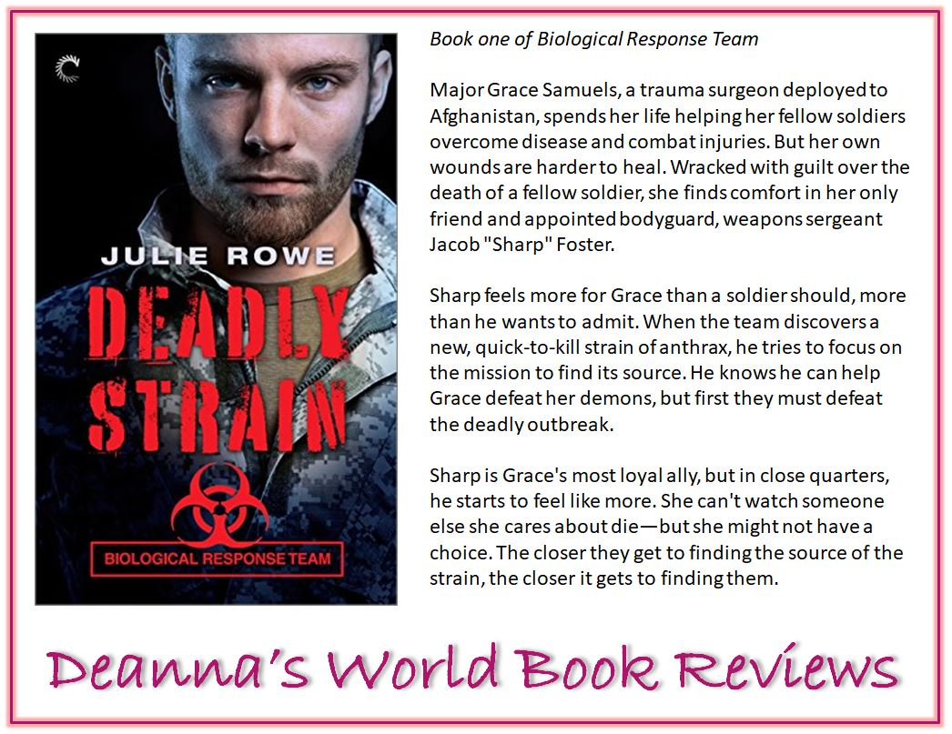Deadly Strain by Julie Rowe blurb