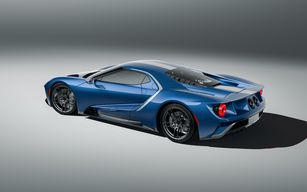 First ever Ford GT Heritage Edition inspired by 66 Daytona 24hr