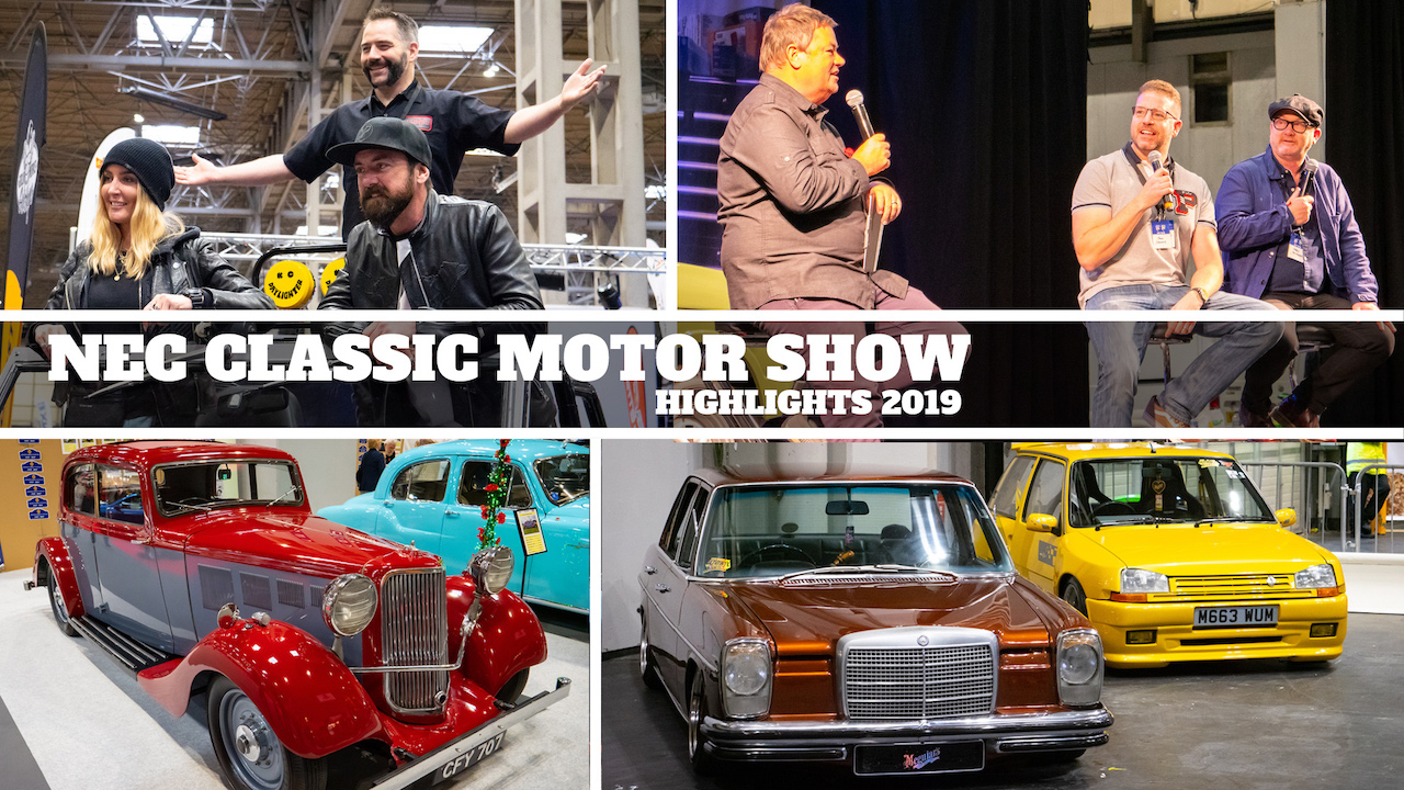 See more of the Goblin Works Garage Crew in our NEC Classic Motor Show Highlights