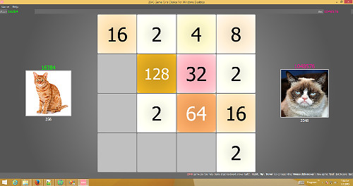 2048 Game Pro for Windows PC Desktop Screen shot