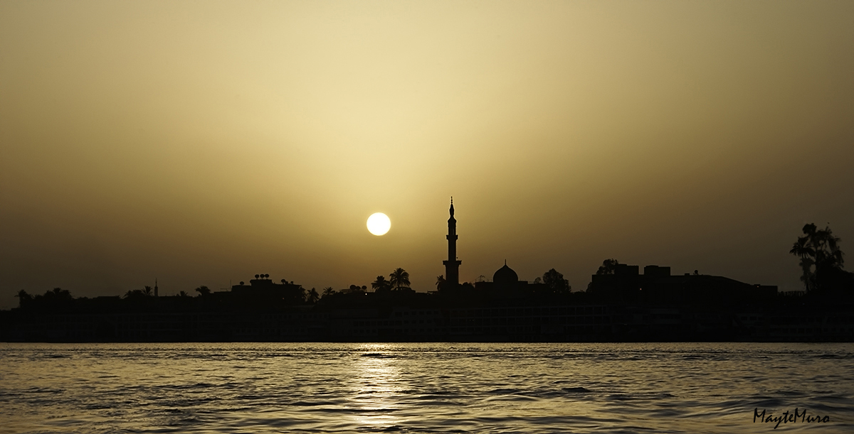 """09.- """"Atardeder en el Nilo"""" - Mayte"""