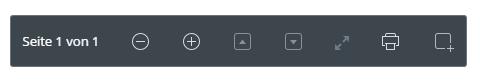Für verschiedene Dokumente (z. B. PDF oder Word) bietet Dropbox zusätzliche Funktionen und greift beim Druck auf die Browser-Funktion zu.